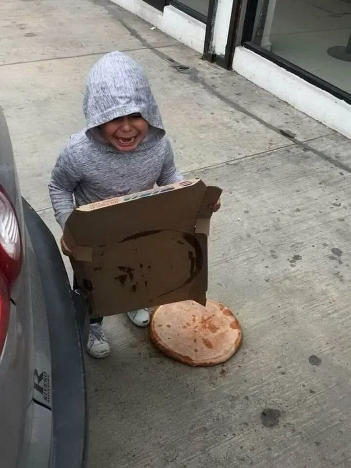 피자를 반대로 하면?