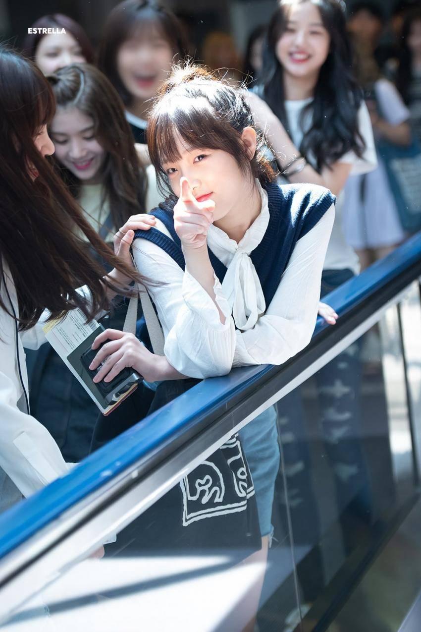 아린이 닮았다는 아이즈원 멤버 - 최예나